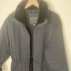 Marc New York Black quilted Coat